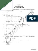 KVPY 2010 Stream SA Solved Paper