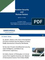 HFA MOOC M4 Aviation Security and Human Factors Presentation