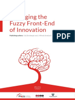 MANAGING the Fuzzy Front-End of Innovation