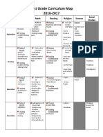first grade curriculum map 2016-2017
