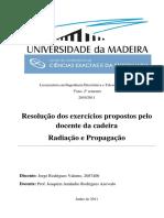 Radiação e Propagação - Aulas Teórico-práticas Resolvidas