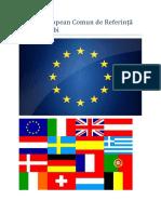 Cadrul European Comun de Referință Pentru Limbi