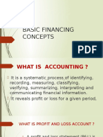Basic Finance Concepts