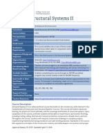cte std structural systems ii