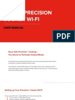 Precision Cooker WI-FI User Manual