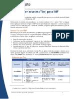 MicroRate White Paper Definiciones de Nivel Spanish