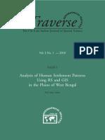 Analysis of Human Settlement Patterns