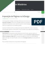 4-Imposição de Páginas No InDesign