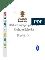 Comercio Electrónico_Road Map Sistemas Abastecimiento Codelco 2014 - 2016 VF