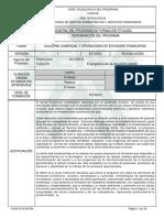 Asesoría Comercial y Operaciones de Entidades Financieras