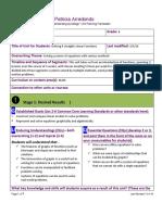 domain skills dimension 3- unit and lesson plan