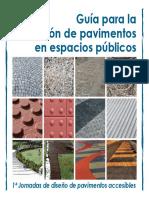 Guia Para La Utilizacion de Pavimentos en Espacios Publicos