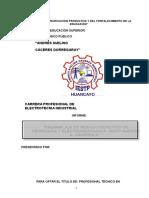 PROYECTO ENSAMBLAJE DE MODULO DIDACTICO DE HIDRAULICA Y ELECTROHIDRAULICA