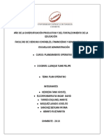 Plan Operativo - Valayh s.a.c.