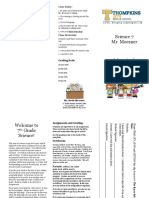 pamplet for open house 7th grade pdf