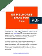 Temas Para Tcc