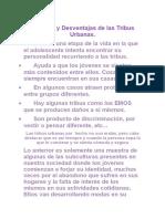 Informe de Artes Plasticas
