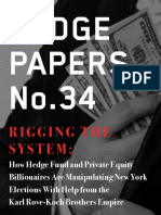 Hedge Clippers Report on Hedge Funds and Private Equity Manipulating NY Elections August 23 2016
