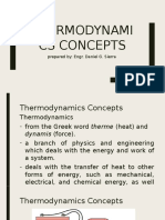 Thermodynamics Concepts