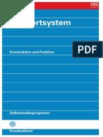 SSP 193 - Komfortsystem - Konstruktion und Funktion