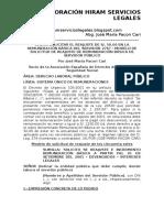 Cómo Solicitar El Reajuste de 50 Soles en La Remuneración Básica Del Servidor 276 – Modelo de Solicitud de Reajuste de Remuneración Básica de Servidor Público
