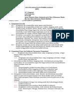 Rpp Sejarah Peminatan Kelas Xi Ips Kd 3.1 Dan 4.1