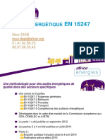 2 AFNOR Energies Audits Energetiques en 16247