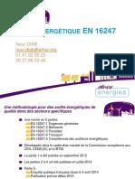 2 AFNOR Energies Audits Energetiques en 16247
