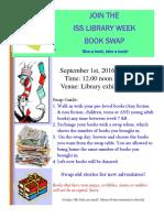 book swap 2016