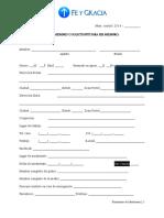 2013-001 - Formulario de Membresía2 9-13