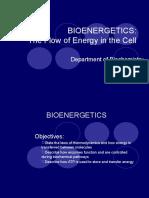 Bioenergetics. Bshb. 17 Maret 10.Biokimia