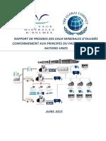 Rapport Du Progr s Des Eaux Min Rales d Oulmes Avril 2015