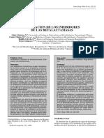 1.1 Valoracion de Los Inhibidores de La Batalactamasa