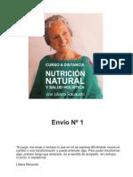 Nutrición Natural - Envío 1