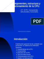 IMES - Compone1ntes, Estructura y Funcionamiento de La CPU
