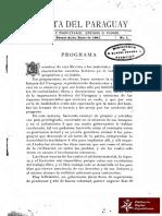 Revista del Paraguay, Director y Propietario