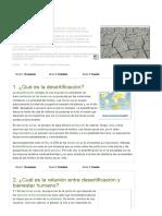 Consenso Científico Sobre La Desertificación 1