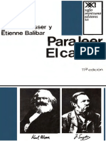 ALTHUSSER Louis - BALIBAR Etienne - Para leer el capital.pdf