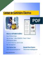 Calidad Suministro Electrico