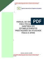 Fiscalisação Sanitárias_Atividades Físicas