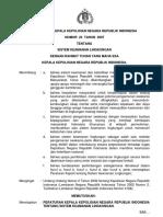 Peraturan Kapolri Nomor 23 Tahun 2007 Tentang Sistem Keamanan Lingkungan
