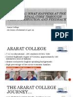 ararat college hplc conference