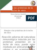 Alergia a Las Proteínas de La Leche De
