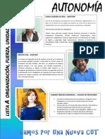 Lista A Eleccion CUT Provincial Copiapo