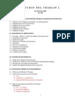 Aunidad Uno.- Generalidades Del Estudio Del Trabajo y Diagramas de Proceso