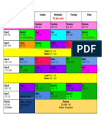 4b schedule11-8-16