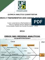 Aula 2 - Erros e Tratamentos Dos Dados Analíticos