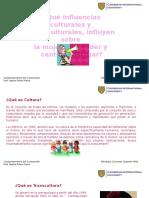 Influencias Culturales y Transculturales Femeninas