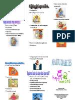 Leaflet Diabetes Melitus TENTANG