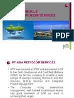APS Company Profile @ Presentation to KSO PTM EP Telaga Said March 11, 2014